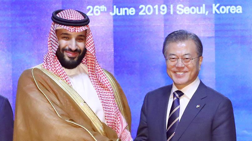 에쓰오일, 5조 들인 고도화 설비 준공식…사우디 왕세자도 참석
