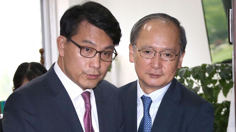 윤상현 '밀사·특사 교환으로 갈등 풀자'…日대사 '美 중재 없을 것'