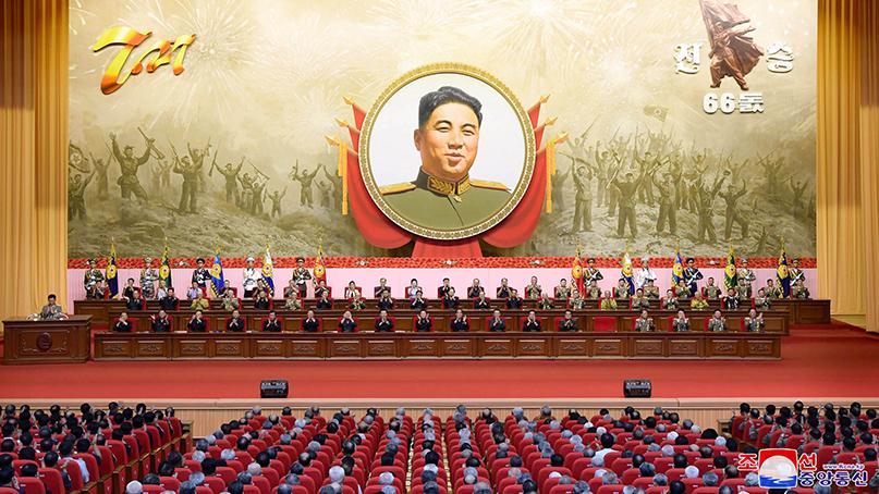 北, 정전협정 기념일에 '경제 강국건설' 강조
