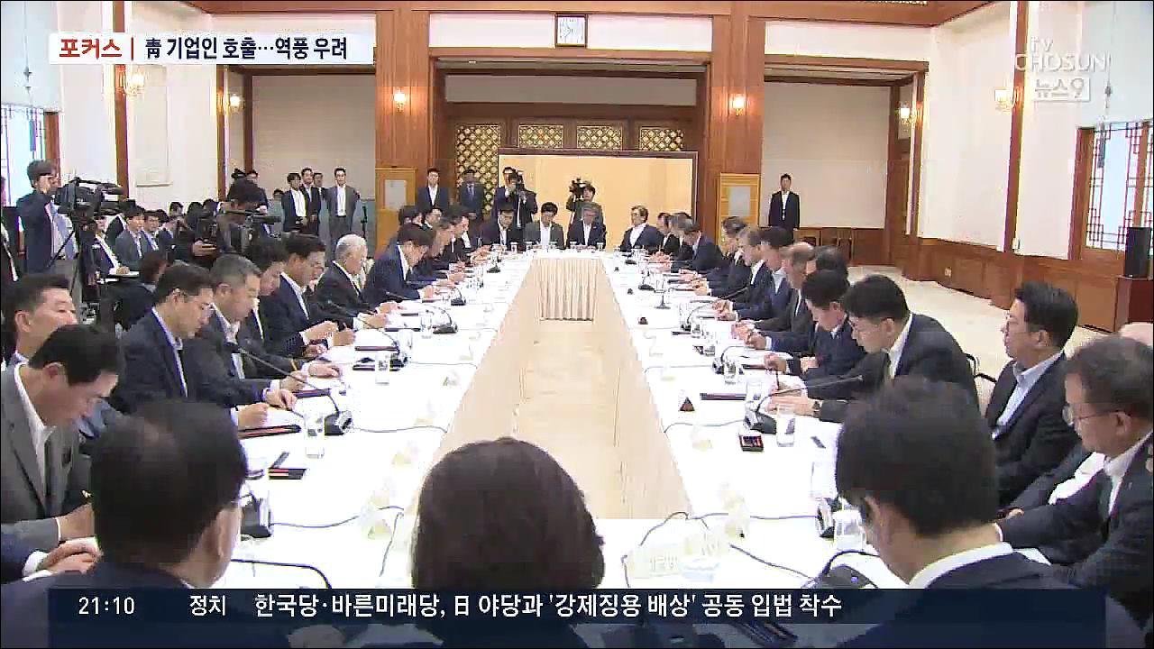 [포커스] 靑, 잇단 기업인 호출…'정치 이슈에 활용' 역풍 우려