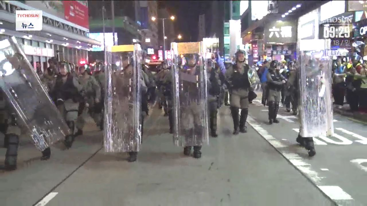 홍콩서 오늘 '300만 집회'…中, 병력 투입 초강수 두나