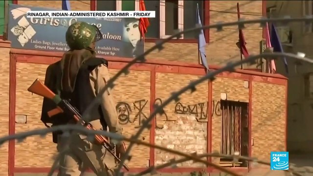 [France 24] Security hightened in Kashmir following call for march