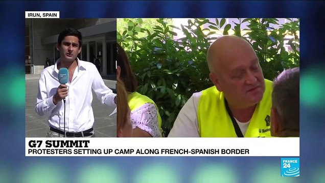 [France 24] 'Counter-G7 summit' at French-Spanish border comes to an end