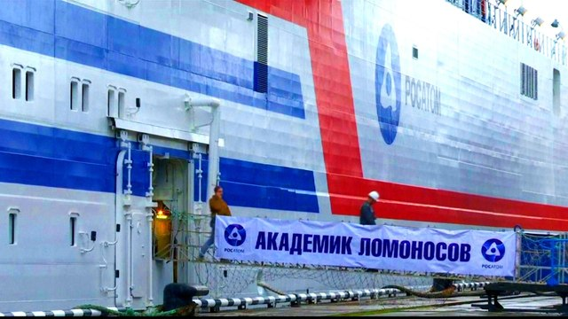 [Al jazeera] Russia launches floating nuclear power Akademik Lomonosov