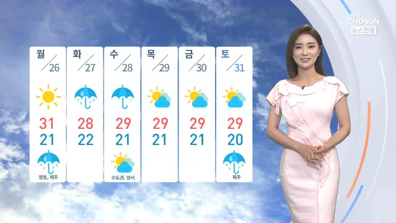[날씨] 30도 밑도는 더위·바람 '선선'…'나들이 가기 좋아요'