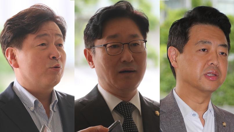 기동민·박범계·김영호 경찰 출석…'한국당은 치외법권 지대냐'