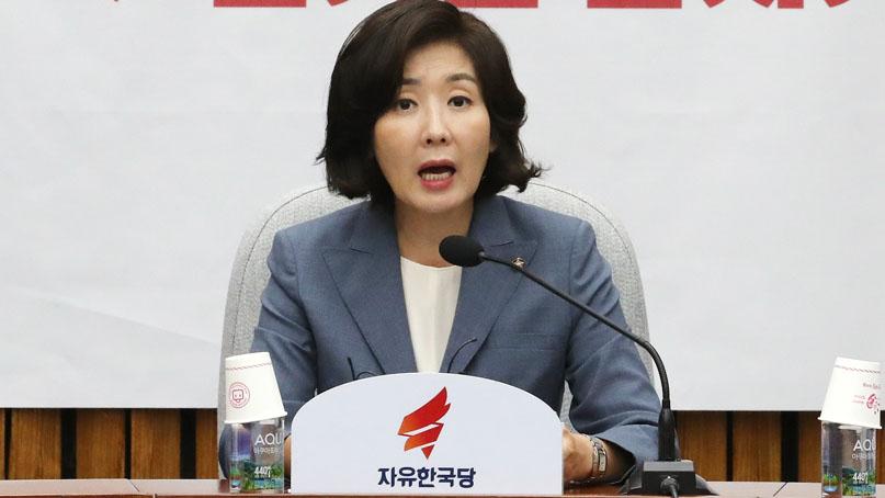 나경원 '조국 청문회, 12일까지 미룰 수 있어'…증인 채택 촉구