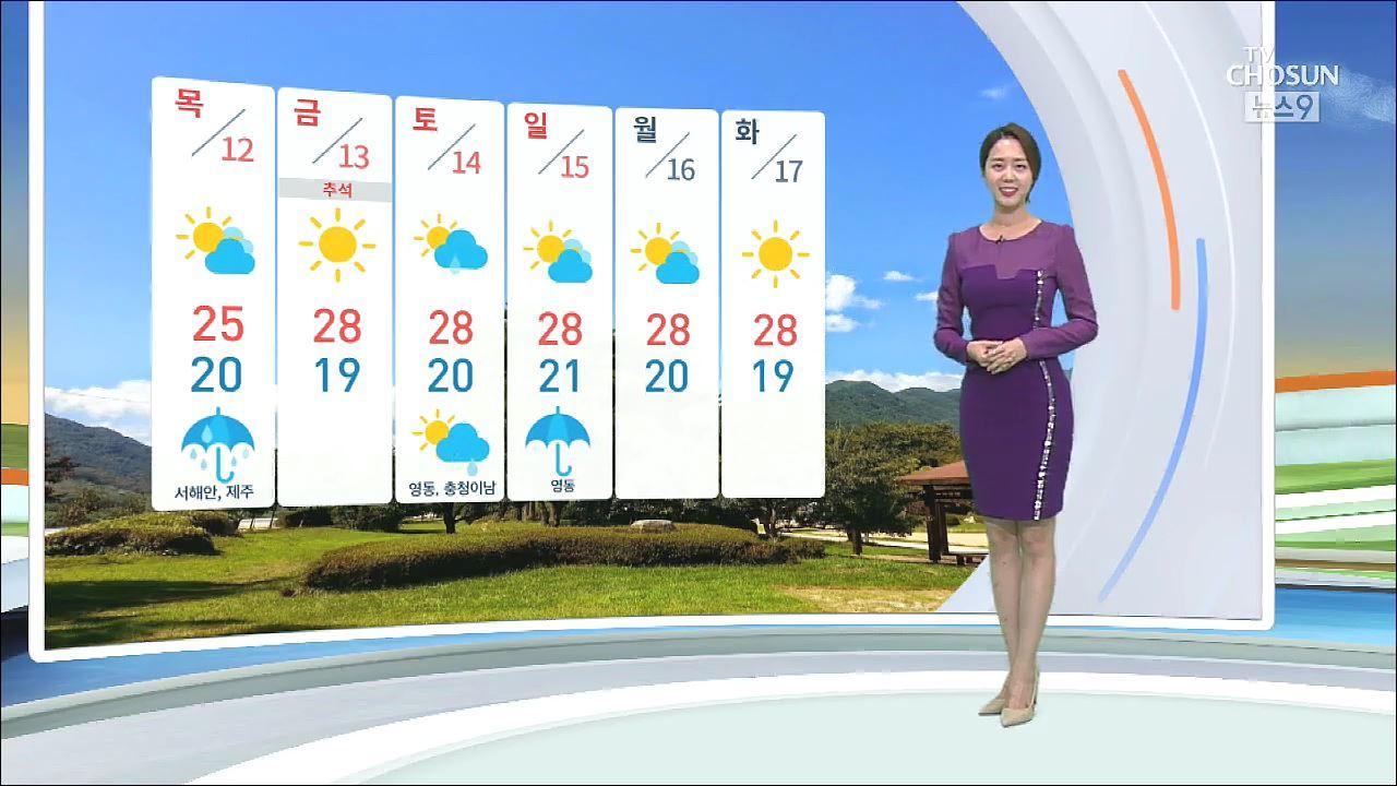 [날씨] 중부 밤사이 집중 호우…내일까지 전국 비