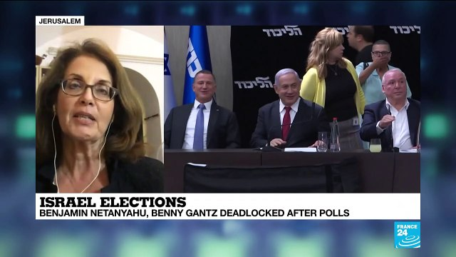 """[France 24] Israel election: """"It will be up to the president to decide to whom to give this almost poisoned chalice"""""""