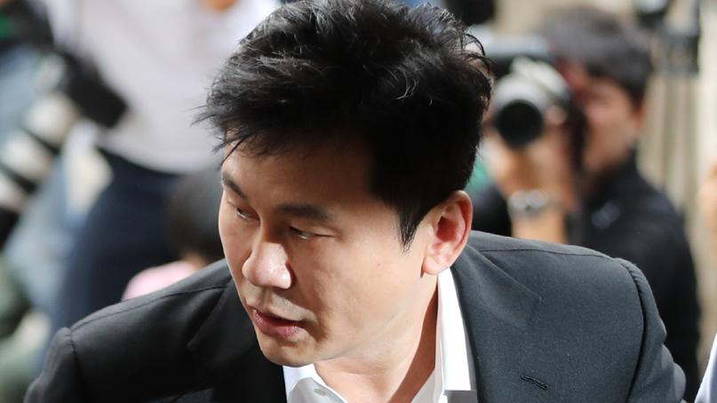 경찰, '성매매 알선 의혹' 양현석 무혐의 결론…불기소 의견 송치