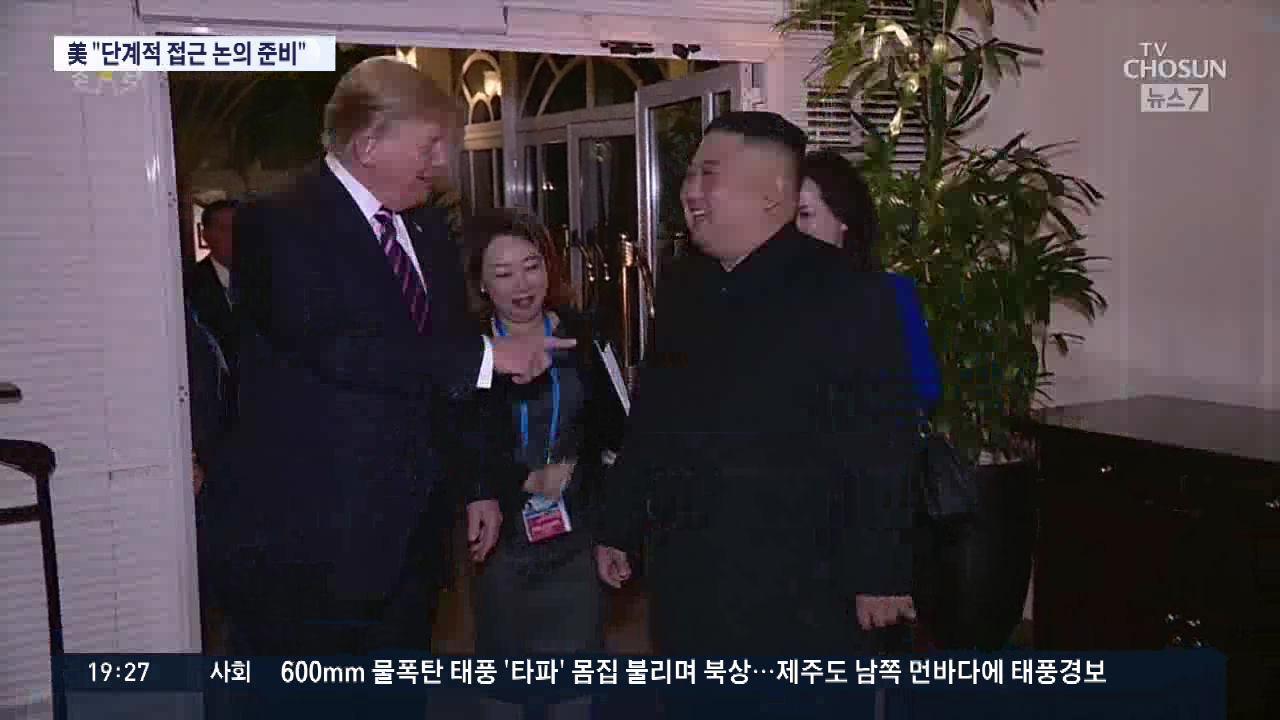 美, 북핵 해법 '단계적 접근'으로 바뀌나…文대통령 22일 방미