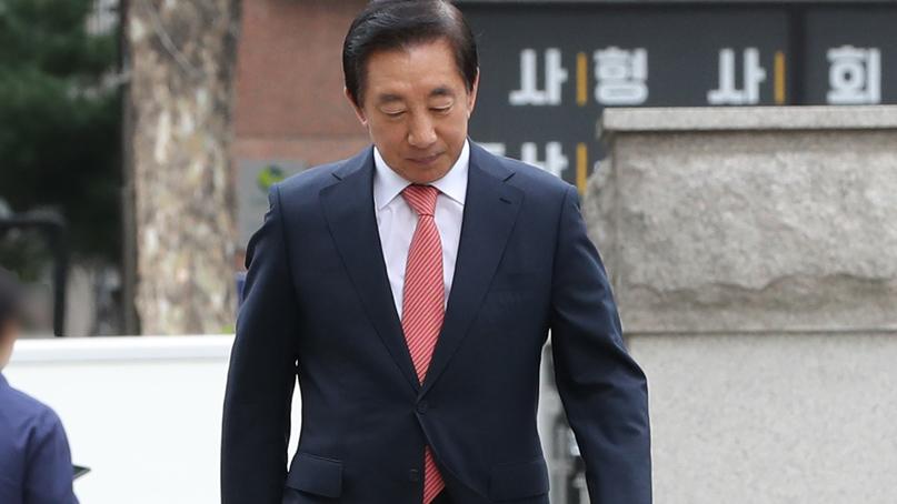'딸 KT부정채용' 김성태 첫 재판…혐의는 모두 부인
