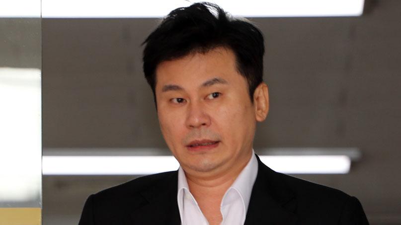 양현석, 14시간 '비공개 조사'…'회삿돈으로 도박 안 했다'