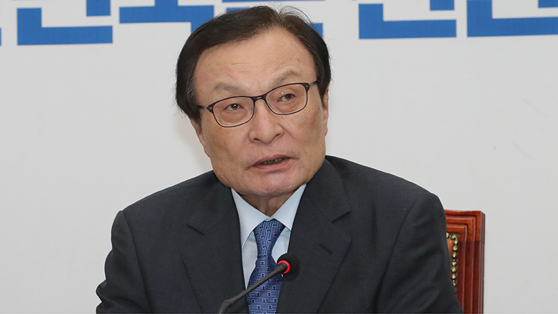이해찬 '서초동 집회, 박근혜 탄핵 집회 연상'