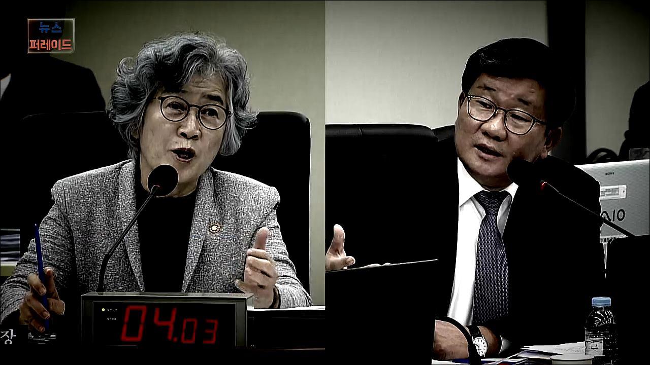 [영상뉴스] 정무위 국감서 '조국 이해충돌' 공방