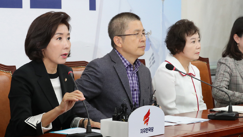나경원 '검찰·선거개혁안, 여야 합의처리 해야'