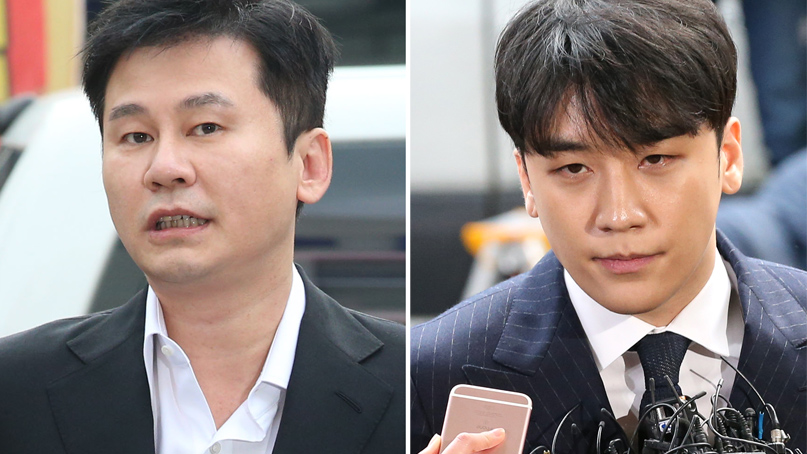 상습도박·불법환치기 혐의 양현석·승리, 이번달 수사 마무리