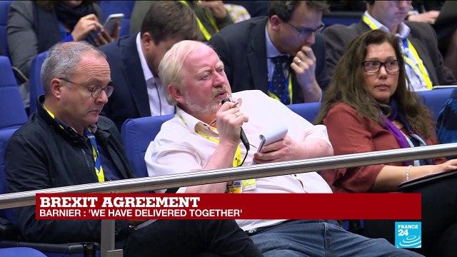 [France 24] Brexit agreement: Watch EU Brexit negotiator Michel Barnier's address