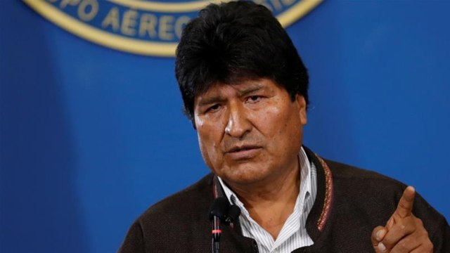 [Al jazeera] Evo Morales leaves Bolivia for Mexico amid violent unrest