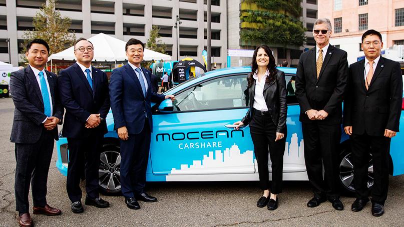 현대차, 美 LA에서 차량공유 서비스 시작…'모션 랩' 설립