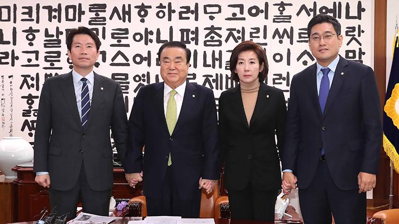 여야, 29일 본회의 열어 법안처리…'3당 회동 매일 개최'
