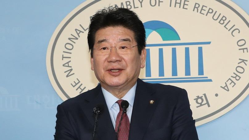 강석호, 한국당 원내대표 출마 선언