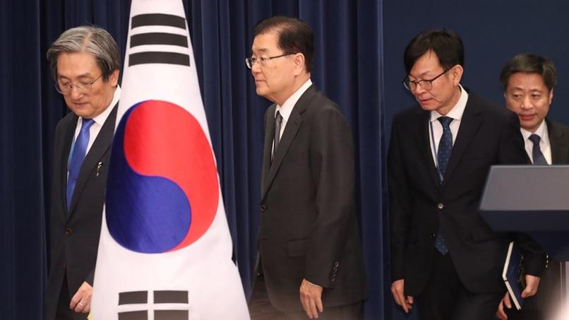 [취재후 Talk] 文대통령의 총리 발표 1시간 뒤…참모가 다시 회견장 찾은 까닭은?