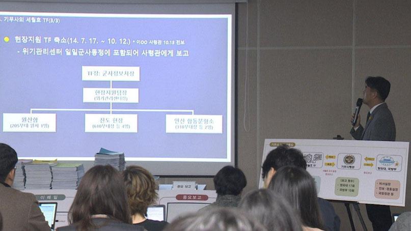 특조위, '유가족 사찰' 前 기무사·청와대 관계자 수사 요청