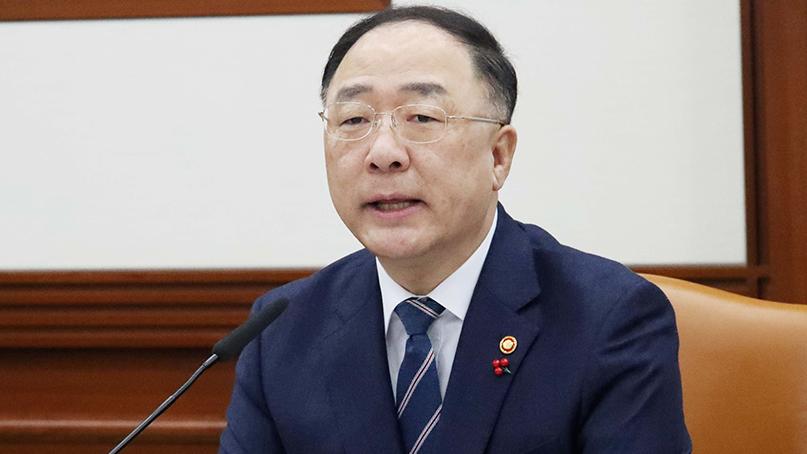 홍남기 '1분기 일자리예산 37% 집행…예타 7개월로 단축'