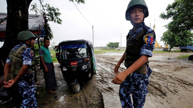 미얀마 폭발로 로힝야족 어린이 최소 4명 사망…정부군↔반군 '책임 돌리기'