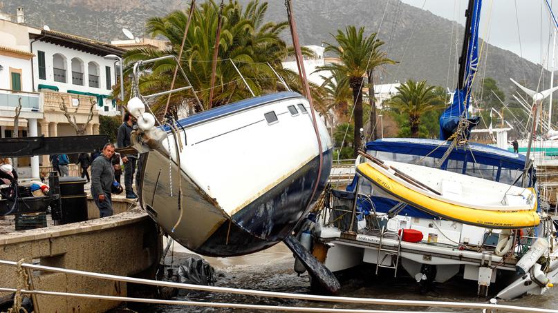 스페인 강타한 '겨울 폭풍'…9명 사망·4명 실종