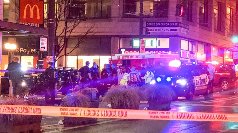 美시애틀 시내서 총기 난사…최소 1명 사망·5명 중상