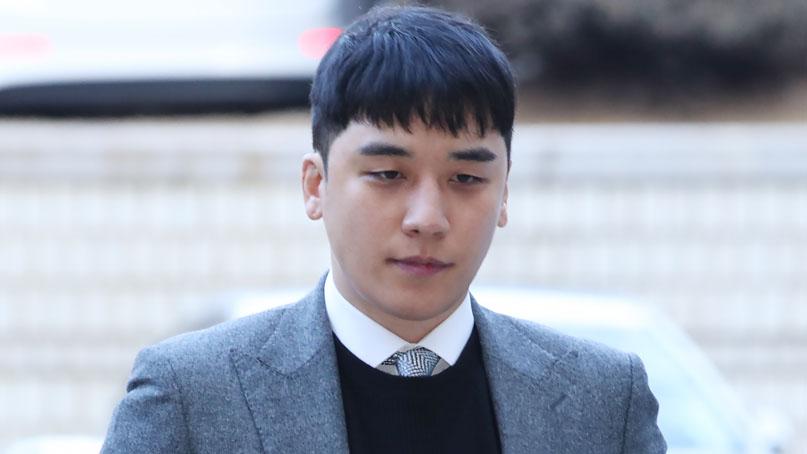 檢, 승리 불구속 기소…'버닝썬 사건' 피의자 11명 재판行
