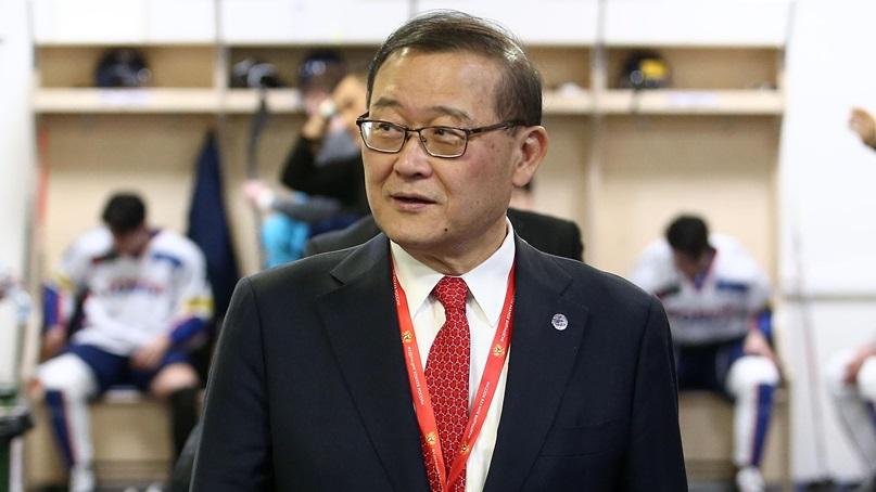 '아이스하키 대부' 정몽원 회장, 국제아이스하키연맹 명예의 전당 헌액