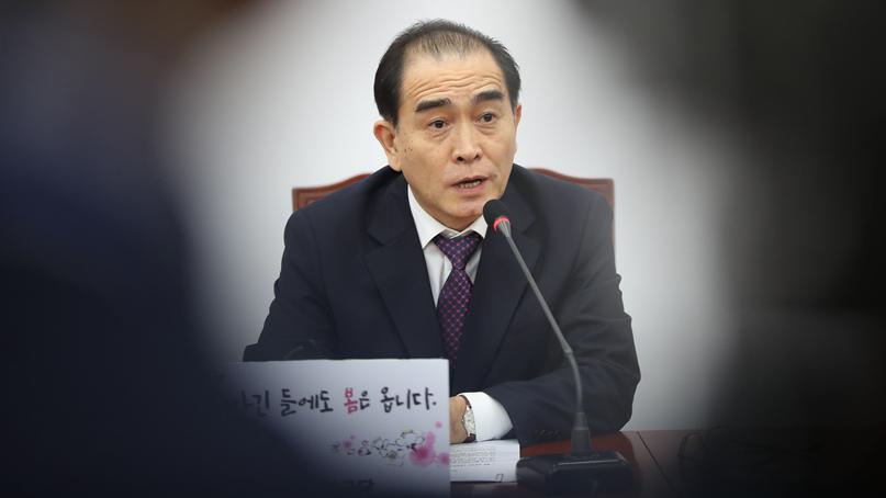 태영호 '北, 국내 주요인사 일상적으로 해킹…이중·삼중 대비'