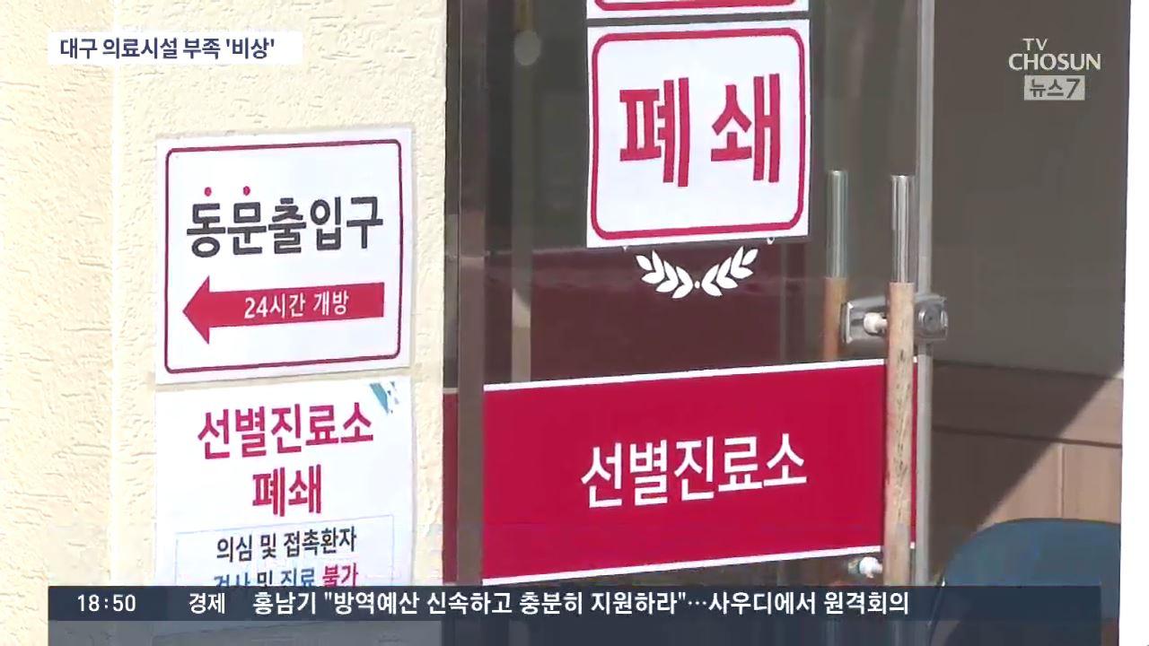 경북대병원 50대 환자 사망…대구 의료시설 부족 '비상'