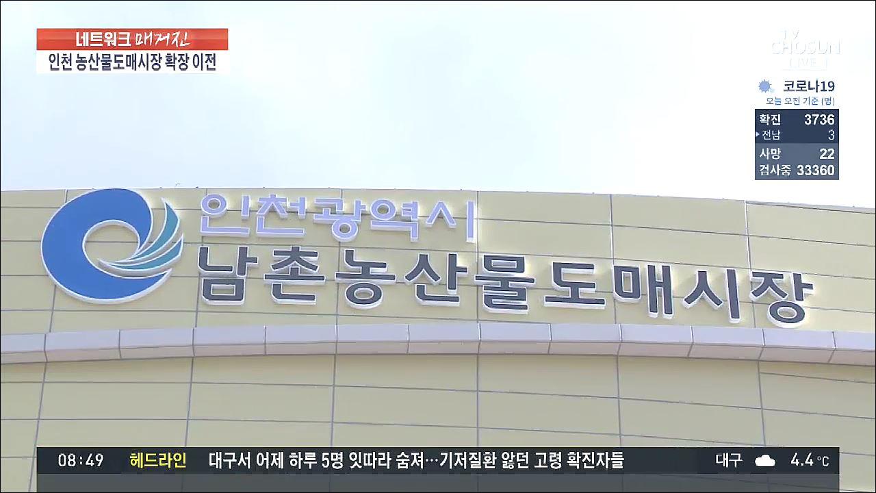 인천 농산물도매시장 '3배 확장 이전'…농식품 복합타운 육성