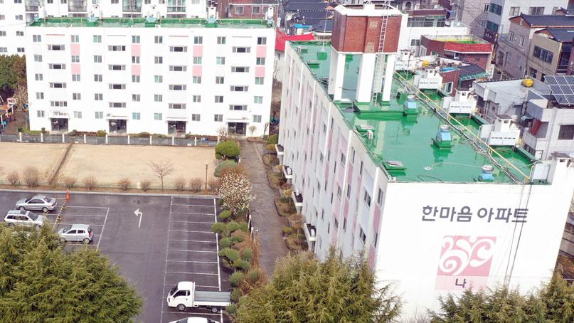 한마음아파트 주민 2명 자가격리 위반 '비상'…고발 검토