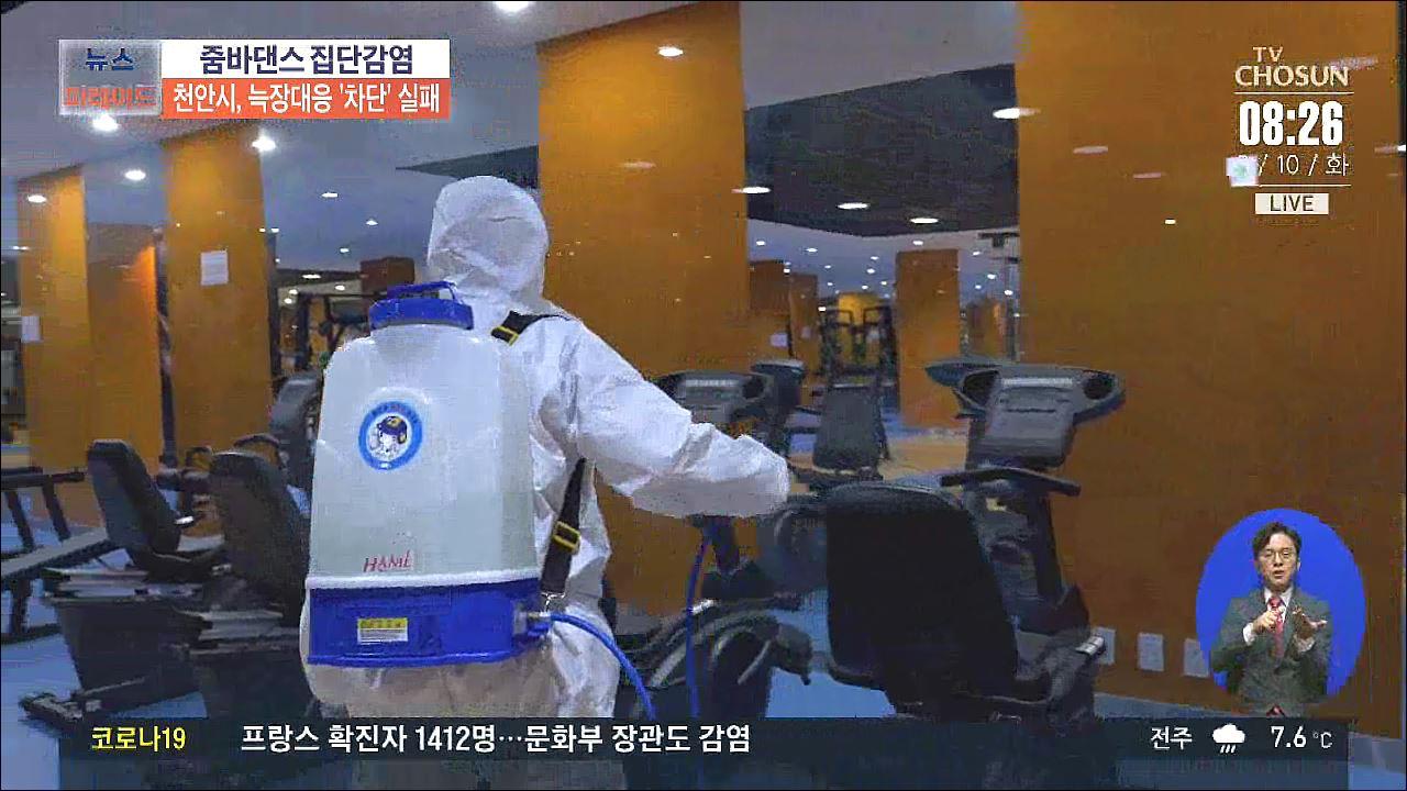 '줌바댄스' 초기대응 실패한 천안…집단감염 막을 기회 놓쳤다