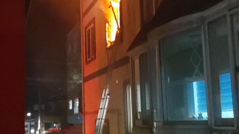 강원 양양군 원룸 건물서 화재…1명 사망·2명 부상