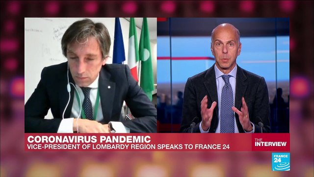 [France 24] Coronavirus pandemic: 'The growth of the virus is slowing down', Vice president of Lombardy tells FRANCE24