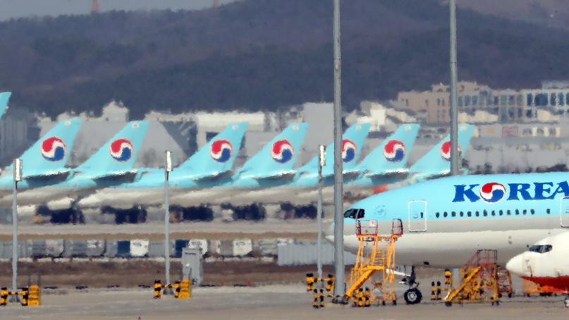 대한항공, 인천-워싱턴DC 노선 13일부터 5월 말까지 운항 중단