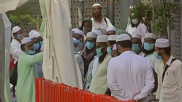 [Al jazeera] India tracks attendees after Muslim event linked to virus cases