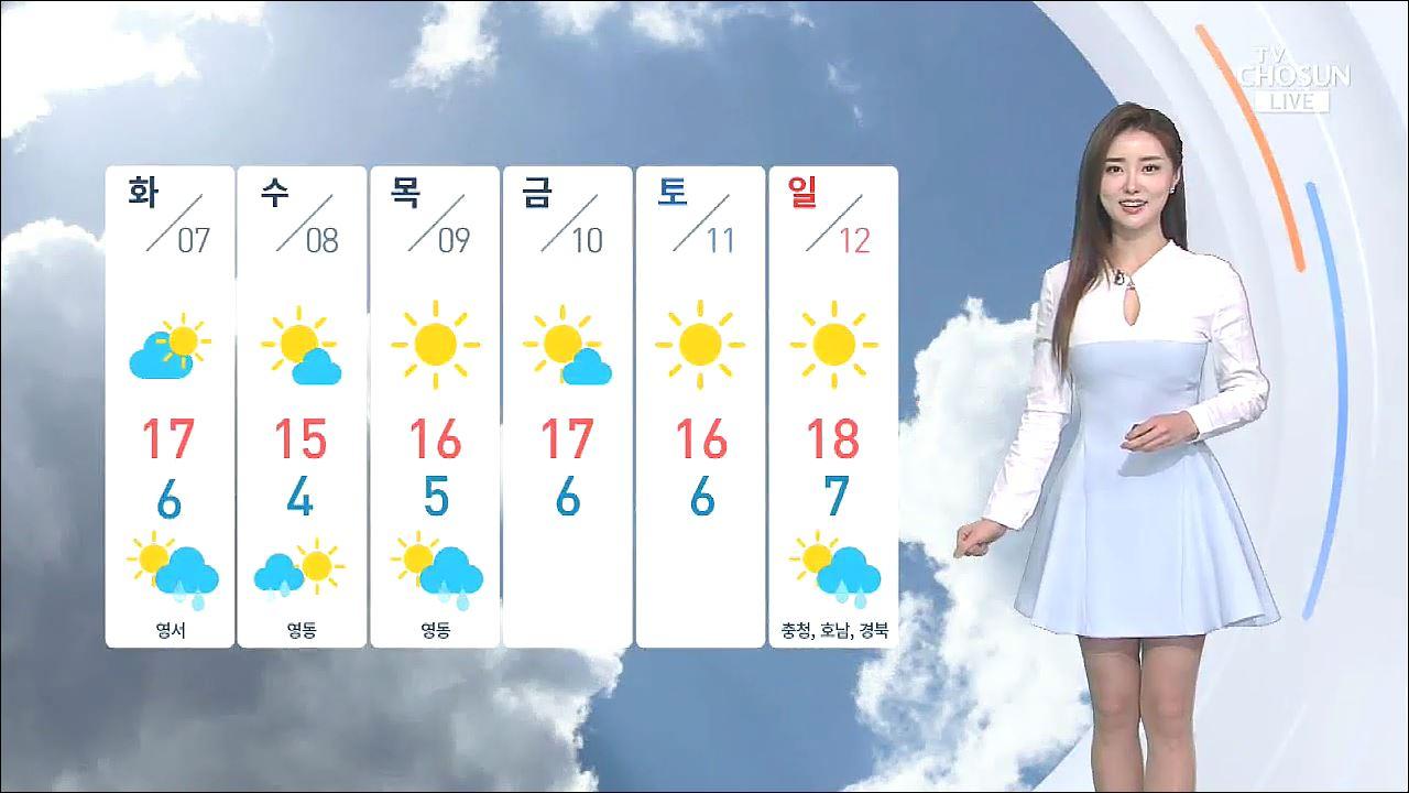 [날씨] 아침 출근길 쌀쌀…낮부터 추위 풀려 따뜻