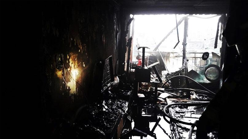 오산 다세대주택서 폭발음과 화재…남녀 2명 사망