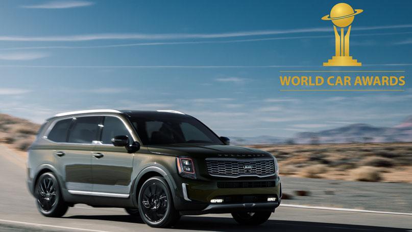 기아차 텔루라이드, 韓 브랜드 최초 '세계 올해의 자동차' 수상