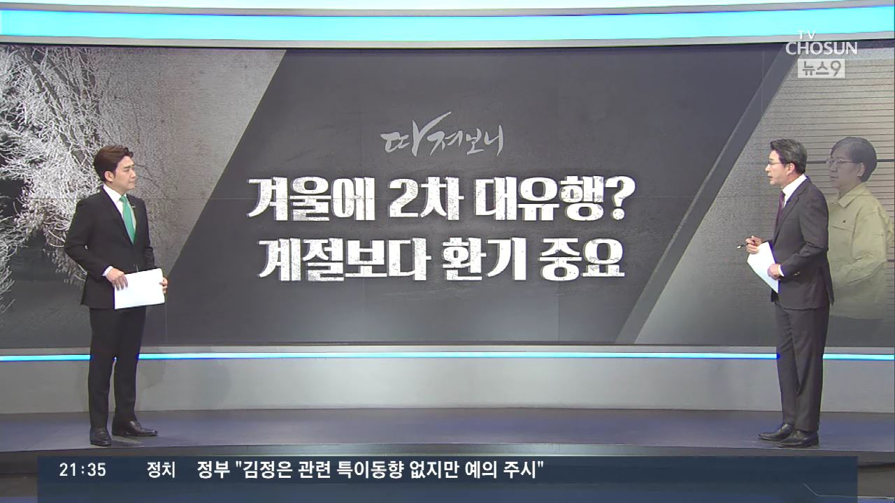[따져보니] '코로나19, 올겨울 2차 대유행'…왜?