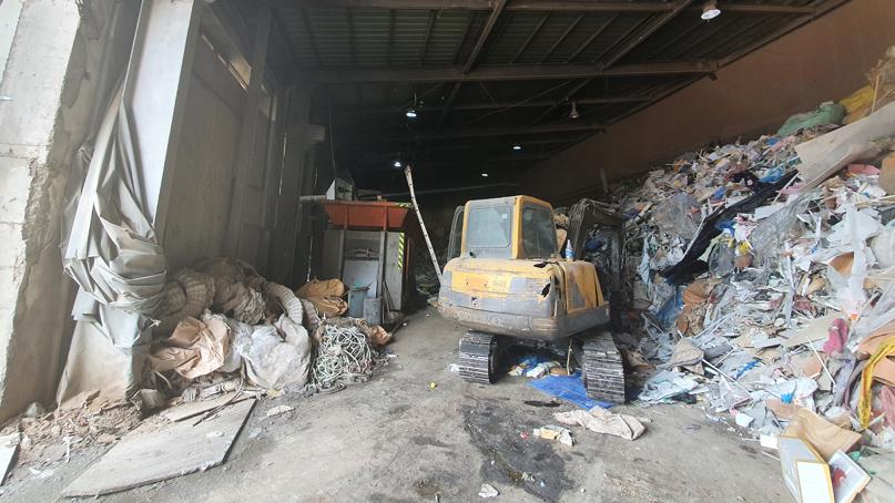 목재 폐기물 처리장서 20대 근로자 기계에 끼어 사망