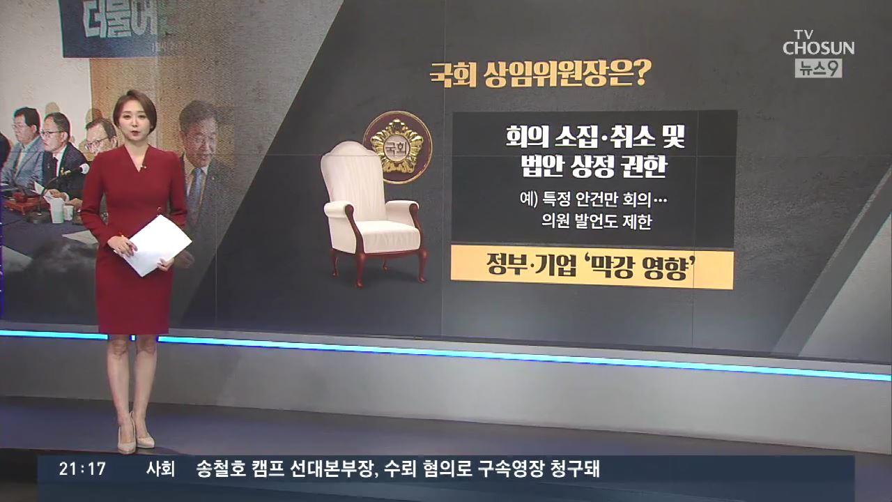 [따져보니] 與 '상임위 독차지' 주장…관행 깨고 과거로?