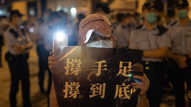 오늘 천안문 31주기…홍콩 범민주 '온오프라인 추모 집회 강행'